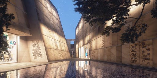 THE CULTURAL CANYON - Rebuilding Baghdad Design Center by DESIGN & MORE INTERNATIONAL © DESIGN & MORE INTERNATIONAL