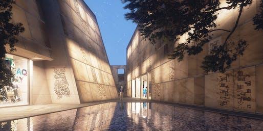 THE CULTURAL CANYON - Rebuilding Baghdad Design Center by DESIGN & MORE INTERNATIONAL © DESIGN & MORE INTERNATIONAL