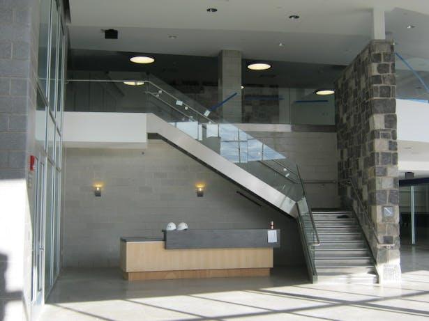 Reception Desk in Concourse