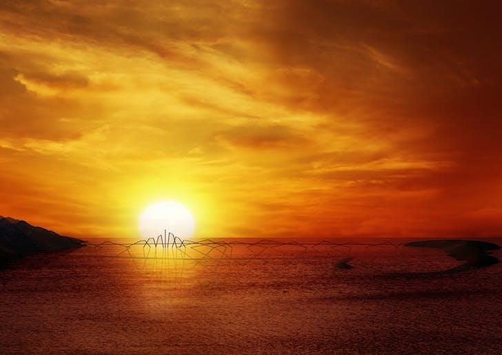 Sunset Silhouette. Credit: WTA Architecture and Design Studio