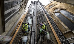 New gothic tower added to Westminster Abbey by architect Ptolemy Dean