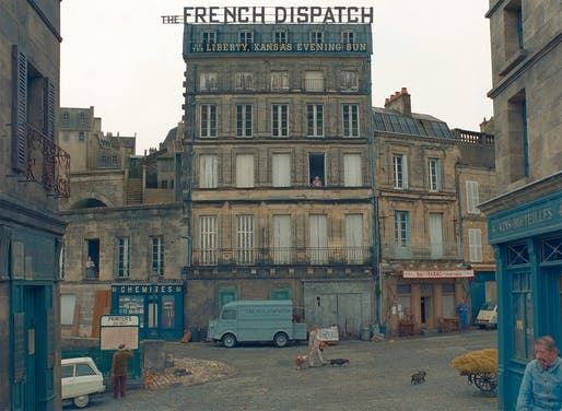 """Scene from Wes Anderson's upcoming movie, """"The French Dispatch."""" Image courtesy Searchlight Pictures."""