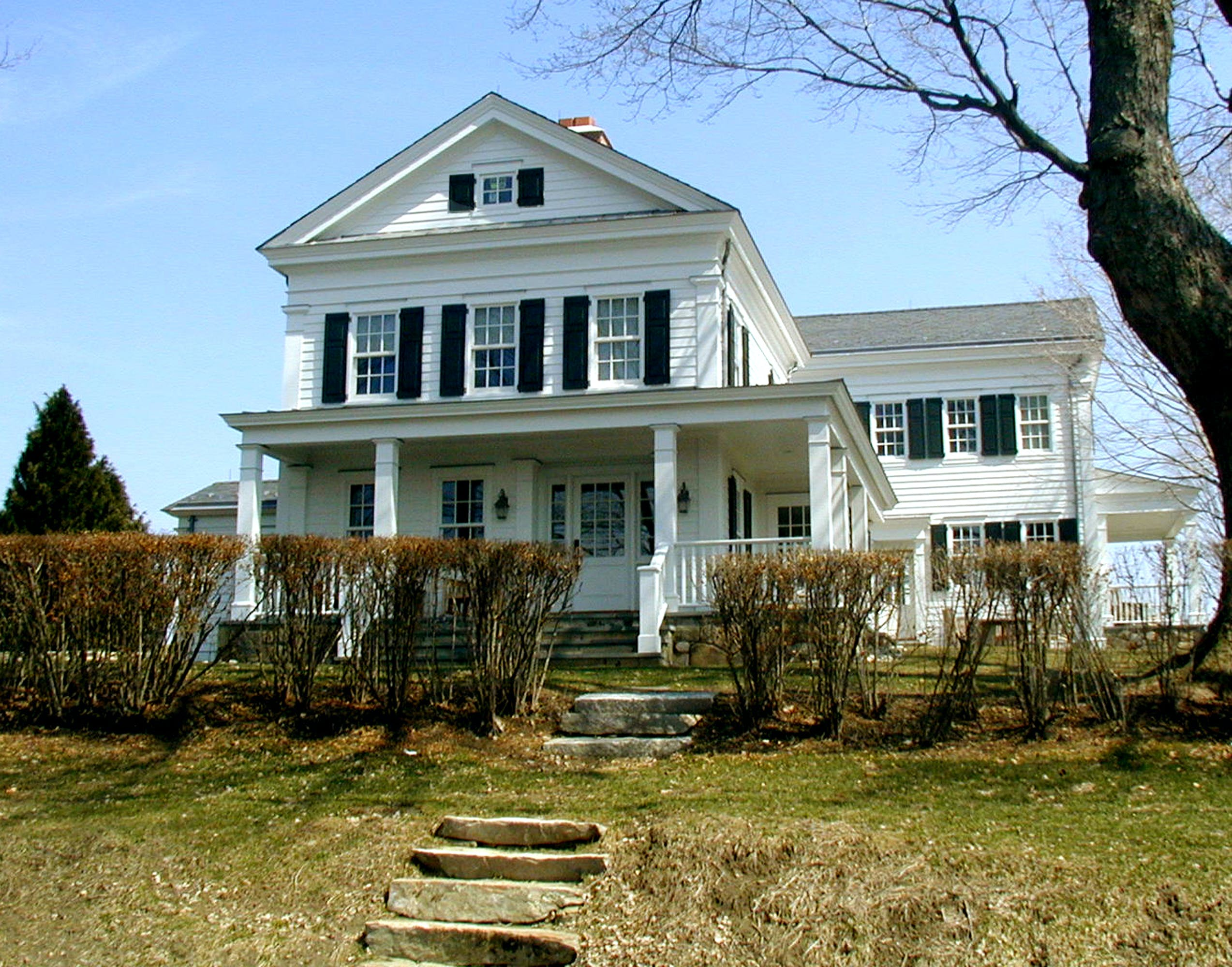 greek revival house
