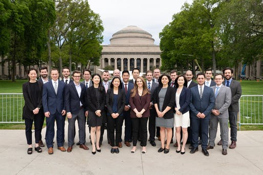 MSRED graduates - #MIT2019 MIT Center for Real Estate. Photo by Lacey Cochran. Courtesy of MIT MSRED