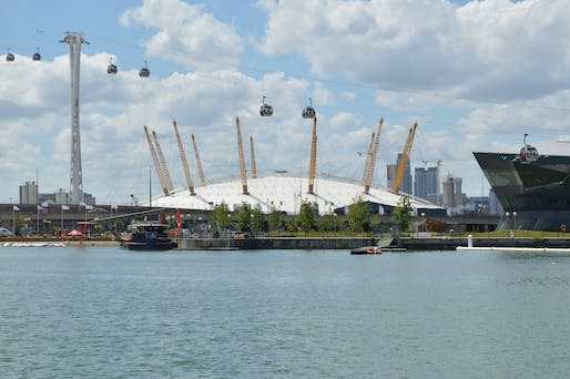 "Opened as the ""Millennium Dome,"" the ambitious project was a financial disaster and eventually redeveloped and rebranded as The O2 entertainment venue. Photo (2014): Lewis Hulbert/Wikimedia Commons."