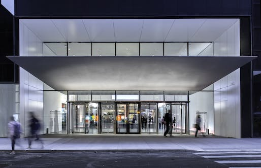 53rd Street Entrance Canopy. Photo by Brett Beyer, Courtesy of Diller Scofidio + Renfro