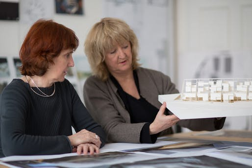 Shelley McNamara and Yvonne Farrell of Grafton Architects © Grafton