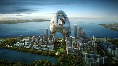 3rd prize 'Superposed City'Shenzhen bay super city international competition