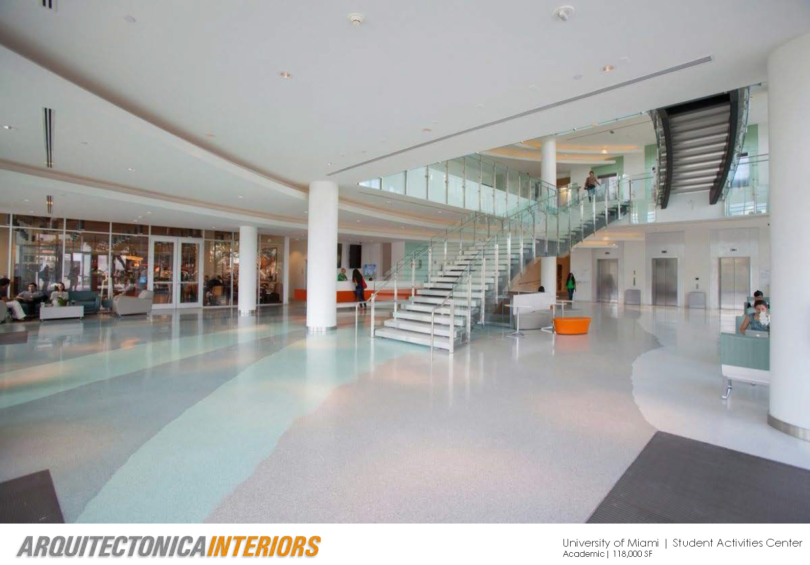 University of Miami Student Activities Center Carlos Colon Archinect