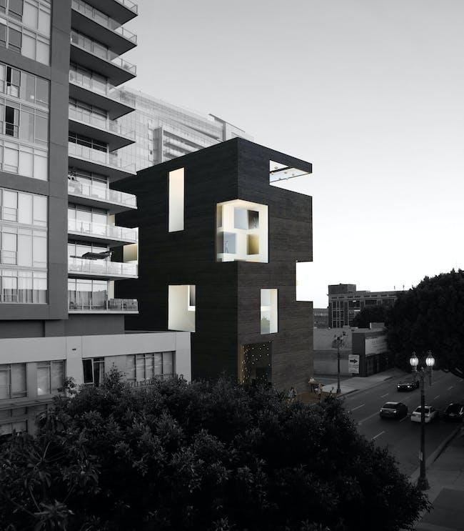 Downtown LA Hotel by XTEN Architecture. Image courtesy of XTEN Architecture