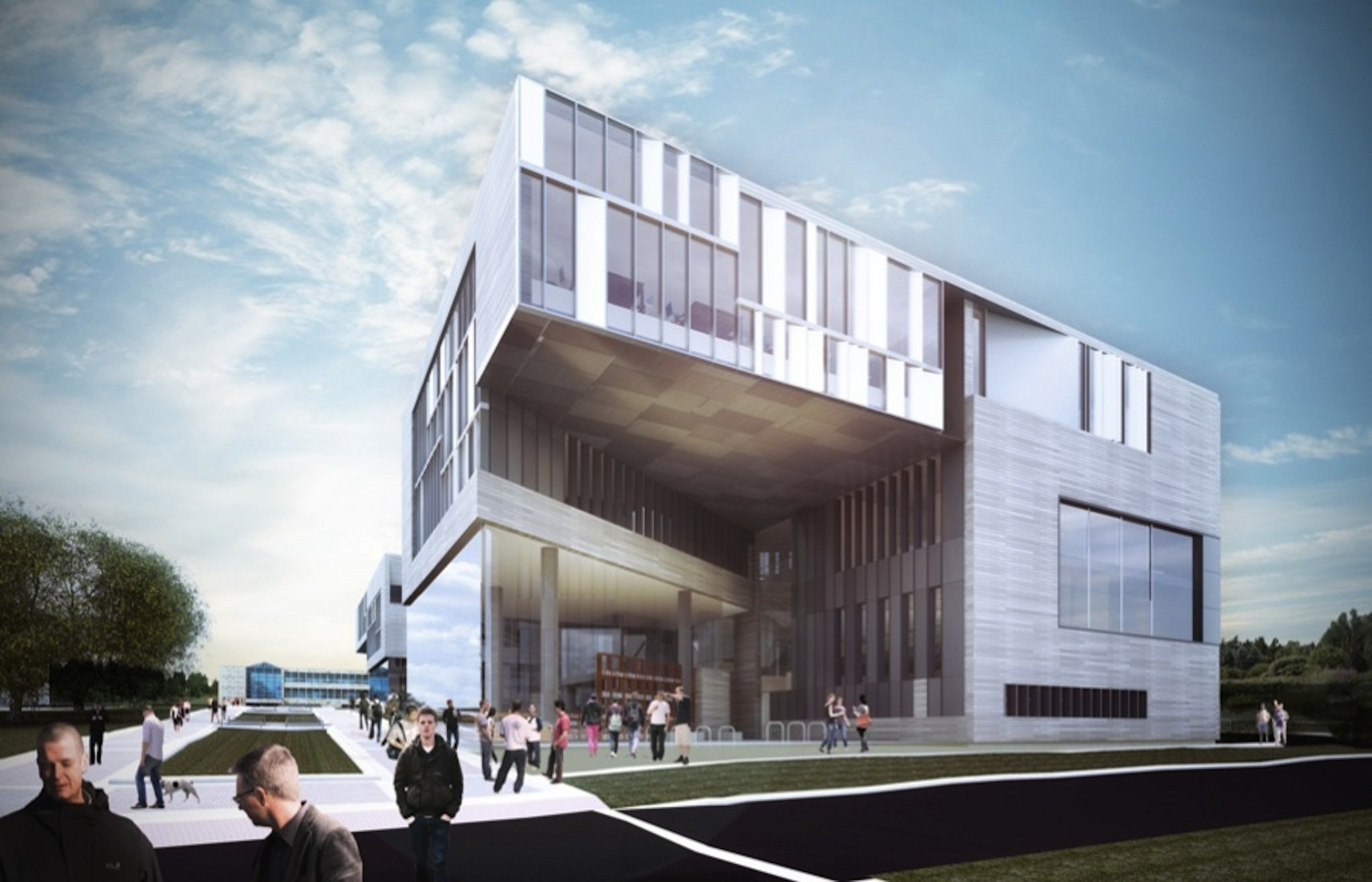The WRL Proposal For The KSU Architecture Building Was The Only One In  Which A Northeast