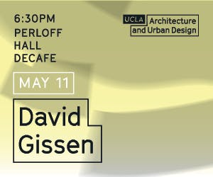 Lecture with David Gissen