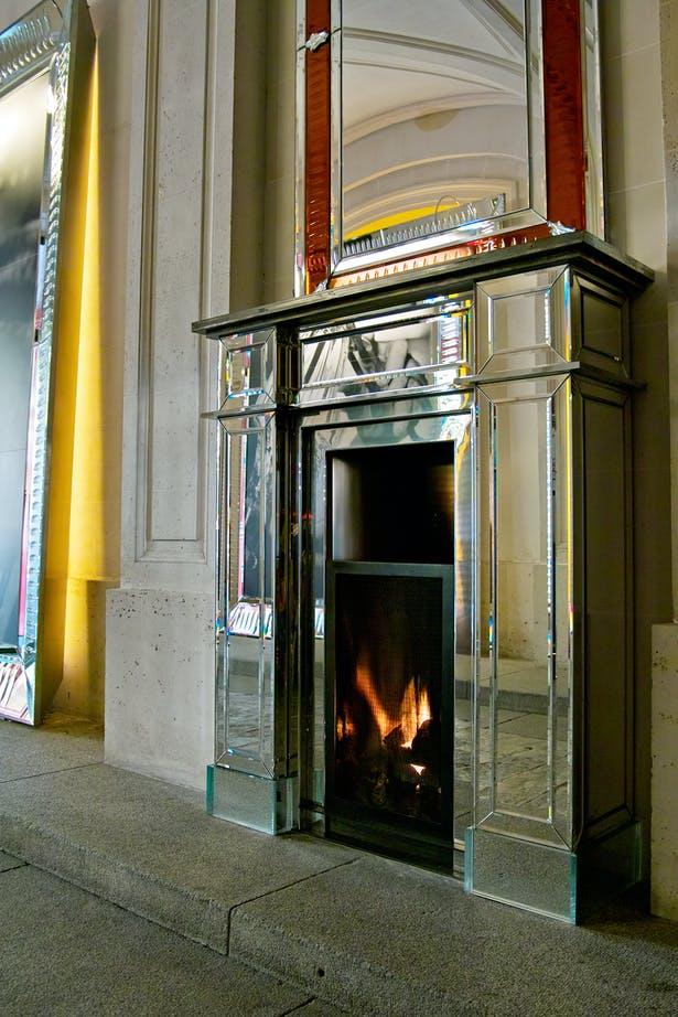 Philippe Starck fireplace by Bloch Design for Baccarat 7