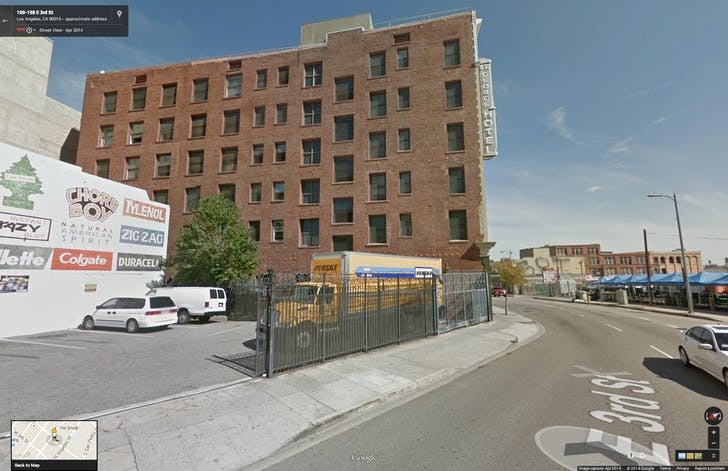 Google Street View of location for 'Slumlord Crocodile (115 E. 3rd St)'.