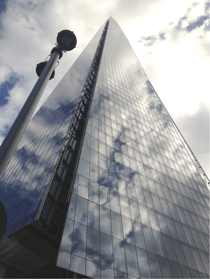 Renzo Piano's The Shard, London, 2012 - image Eleanor Marshall