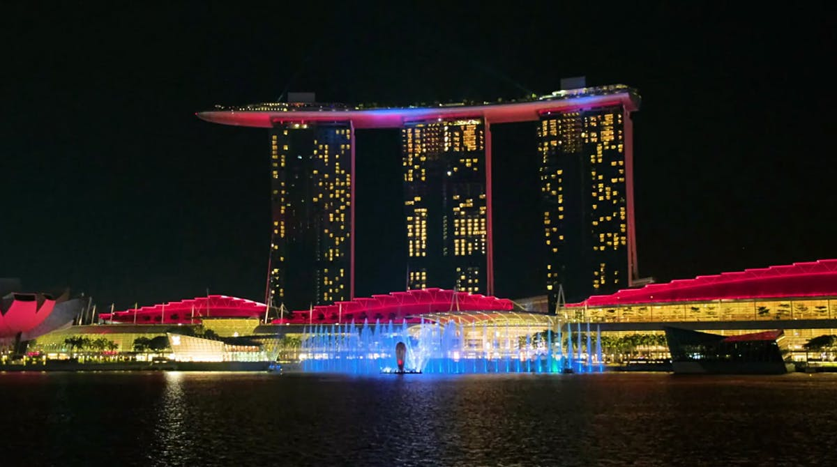 Singapore S Marina Bay Sands Gets A Spiffy State Of The