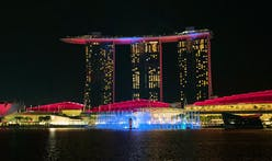 Singapore's Marina Bay Sands gets a spiffy state-of-the-art laser and water show