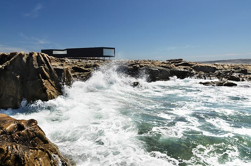 Still from 'Strange and Familiar: Architecture on Fogo Island'. Image via adfilmfest.com