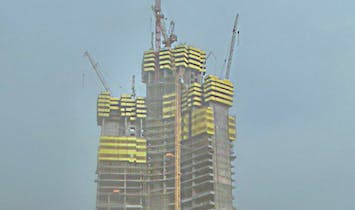 Jeddah Tower construction reaches 63rd floor