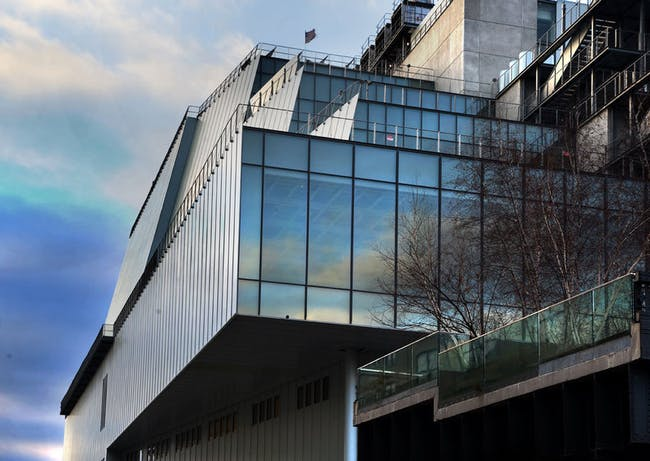 The building's southeast corner in Dec. 2014. Credit: Ed Lederman via the Whitney Museum of American Art