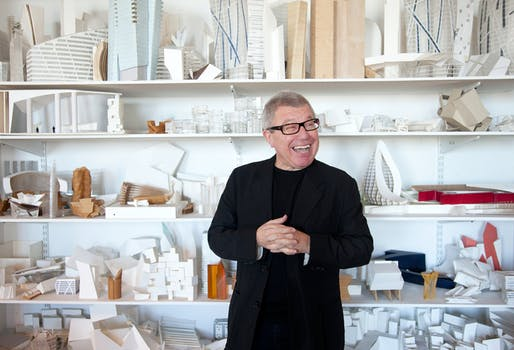 Who's a big birthday boy? Happy 70th! (Image via libeskind.com)
