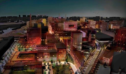 MVRDV-led consortium to refurbish historic Serp & Molot factory site in Moscow. Image courtesy of MVRDV.