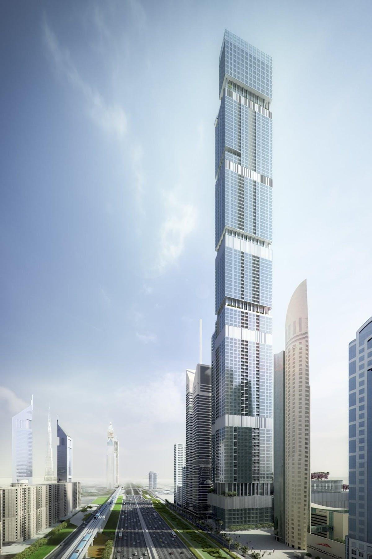 Entisar Tower Jonathan Golli Aia Archinect