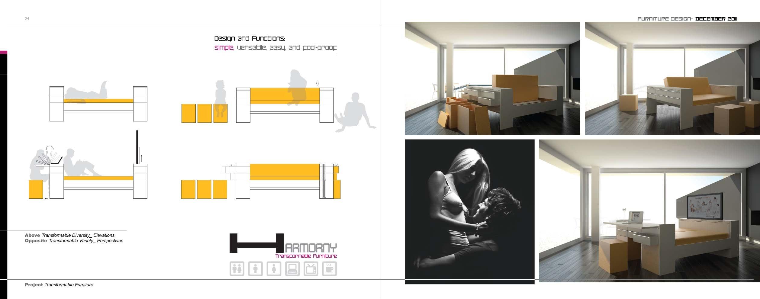 Main Page  Main Perspective U0026 Vertical Section U0026 Floor Plan