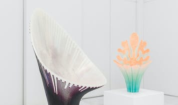 Zaha Hadid Architects design 3D-printed chairs for Nagami's Milan debut
