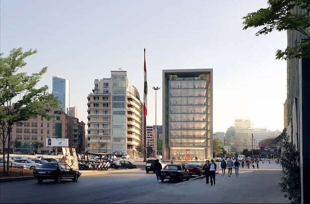 Street Level View 2