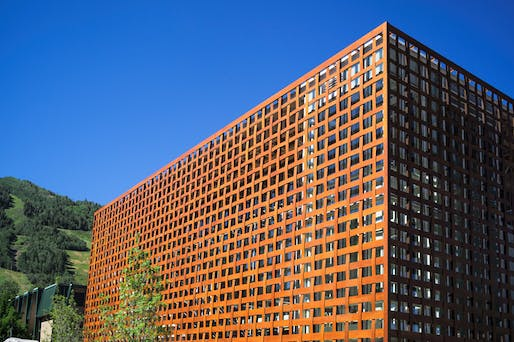 The Aspen Art Museum is Ban's first large-scale US project. Credit: david x prutting/bfanyc.com via DesignBoom