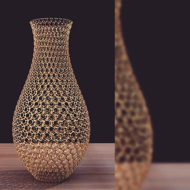 Vase Skeleton