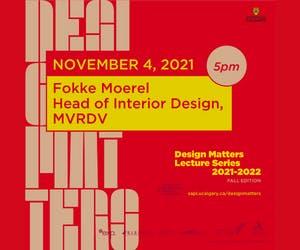 "Design Matters with Fokke Moerel, MVRDV, ""Socially Resilient"""