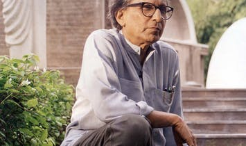 Balkrishna Doshi's 2018 Pritzker Prize Laureate Lecture to be streamed live on May 16th