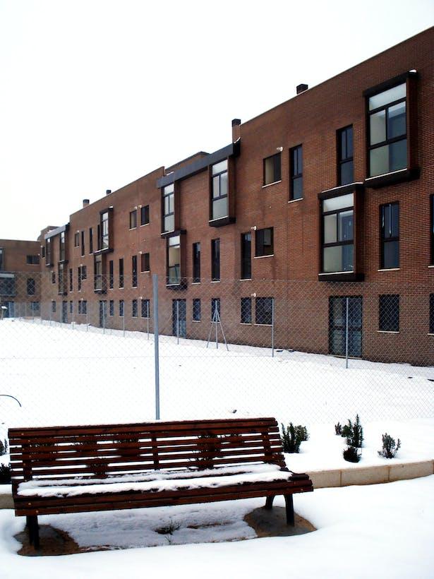 North façade