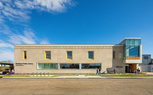 Hastings Public Library Renovation/Addition. Photo: Paul Brokering.