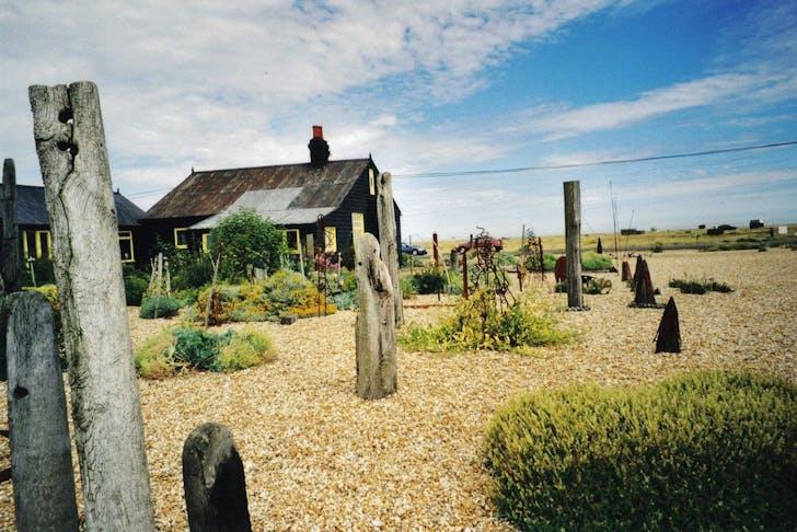 Derek Jarman's Prospect Cottage. Image via Wikimedia.