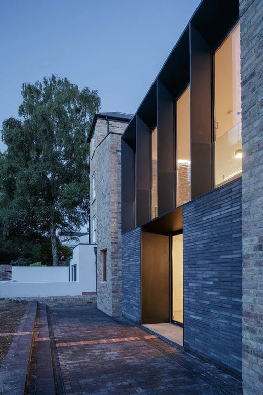 Semi Detached House in Oxford, UK by Delvendahl Martin Architects; Photo: Tim Crocker