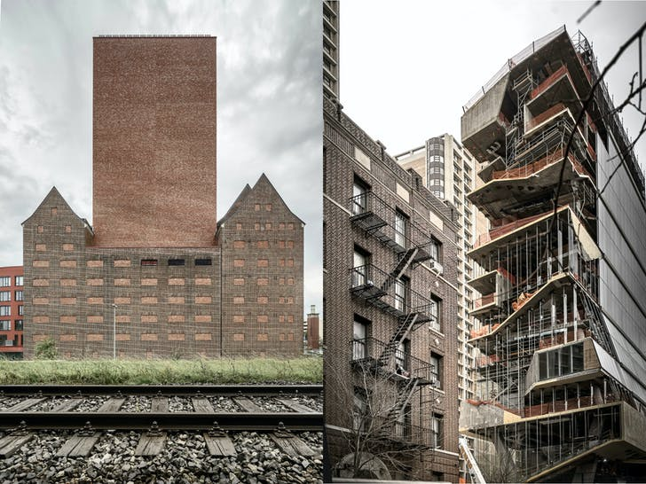 State Archive. Design by O&O Baukunst (left) and Roy and Diane Vagelos Education Center. Design by DSRNY. Photos courtesy of Aldo Amoretti.