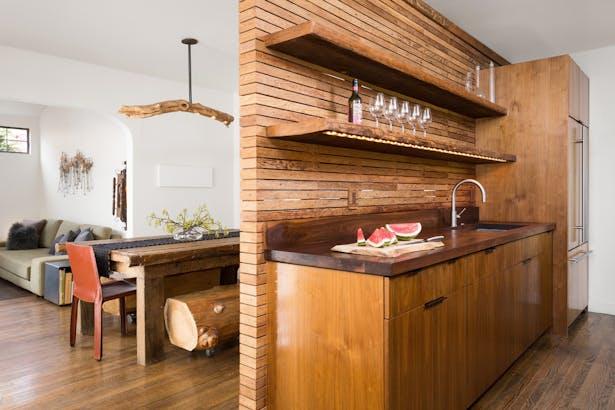 Boise Residence Kitchen towards Dining Room