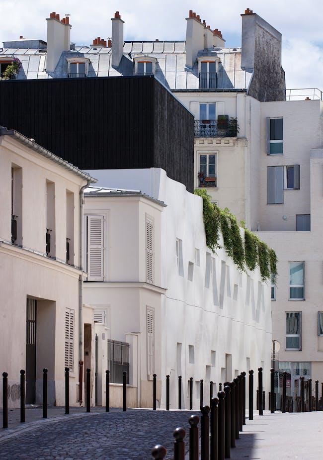 Crèche et logement de fonction rue Pierre Budin in Paris, France by ECDM architects