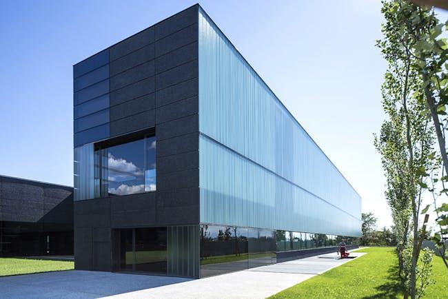 FABER Headquarters in Cividale del Friuli, Italy by Gri e Zucchi