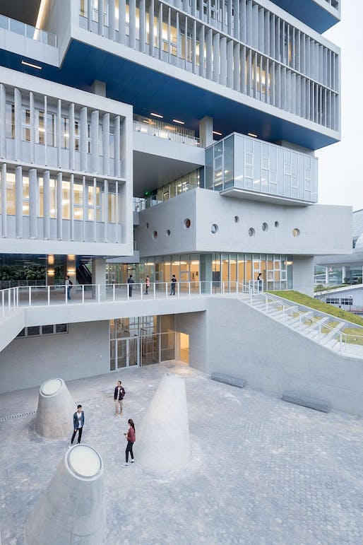Tsinghua Ocean Center by OPEN Architecture. Photo © Iwan Baan.