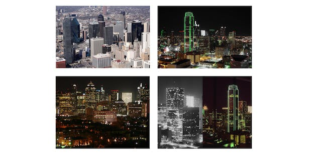 1401 was the first tower in Downtown Dallas to integrate a lighting system as an architectural element.