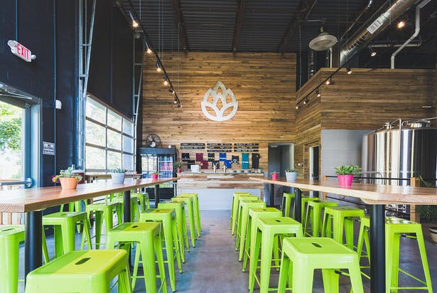 Great Rhythm Brewing Company Winter Holben Architecture