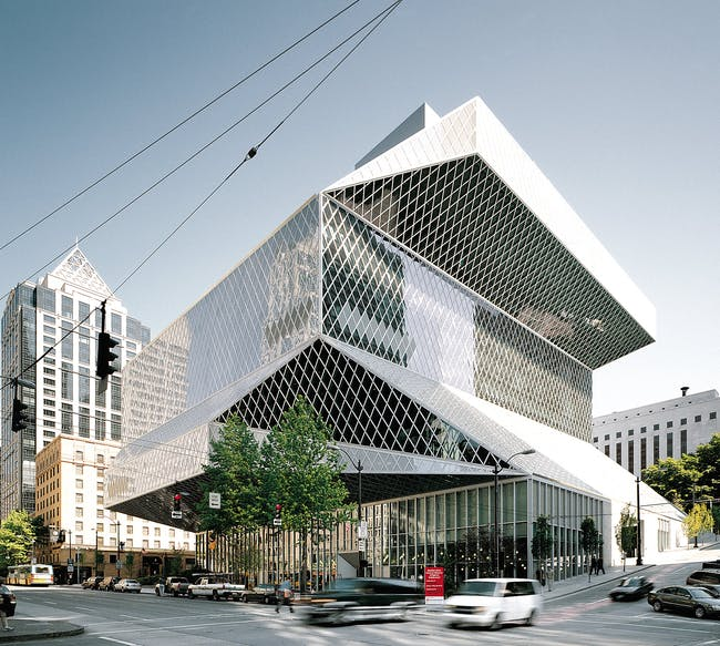 Central Library, 1999-2004, Seattle (United States)© Christian Richters