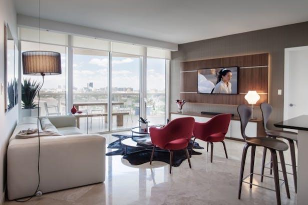 Living Room - Custom TV Unit