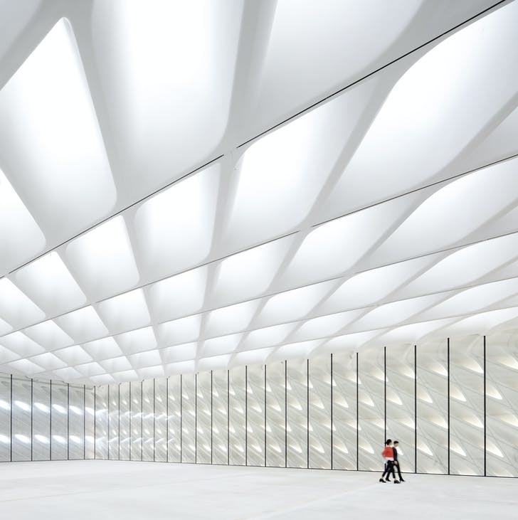 Inside the Broad. Photo by Hufton + Crow.