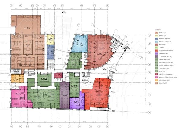 Schematic Floor Plan - Main Level