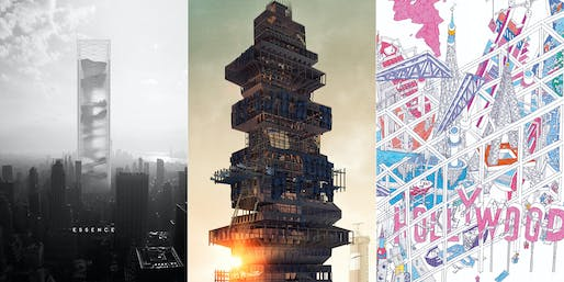 Winners of the 2015 eVolo Skyscraper Competition. All images courtesy of eVolo Magazine.